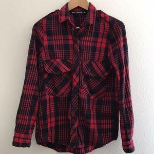 Gently worn Zara flannel